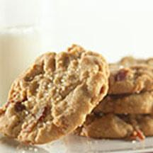 Bacon and Peanut Butter Cookies.