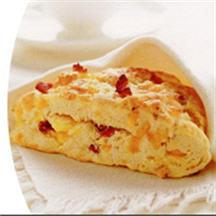 Bacon, Egg and Cheddar Scones.