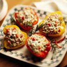 Barley-Stuffed Peppers.
