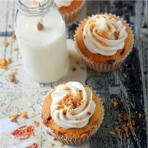 Butterfinger Cupcakes.