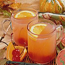 Cheery Spiced Cider.