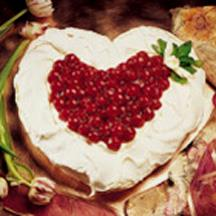 Cherry Meringue Heart recipe