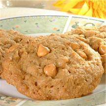 Chewy Butterscotch Graham Cookies.