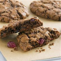 Chewy Cherry Chocolate Cookies.