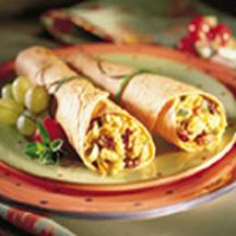 Chicken and Cherry Wraps.