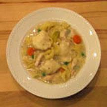 Chicken and Noodles with Dumplings.