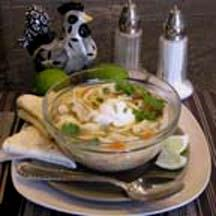 Chicken Soup with Cilantro and Lime