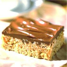 Chocolate Butterscotch Cereal Bars.