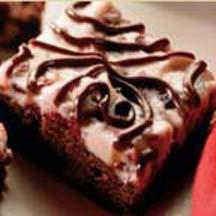 Chocolate Cranberry Holiday Bars.