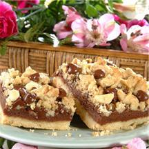 Chocolate Crumb Bars.