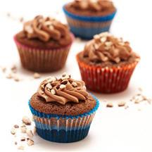Chocolate Malt Cupcakes with Malted Buttercream.