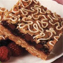 Chocolate Raspberry Streusel Squares.