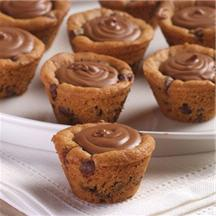 Chocolatey Chocolate Chip Cookie Cups.