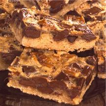 Chunky Chocolate Pecan Bars.