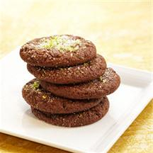 Cocoa-Ancho Chile Cookies.