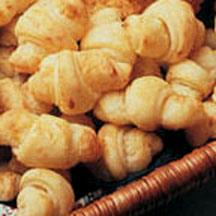 Cottage Cheese Butter Horns.
