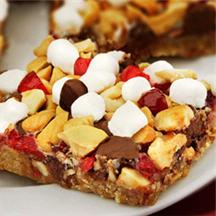 Cranberry Cashew Cookie Bar.