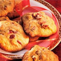 Cranberry Spice Cookies.