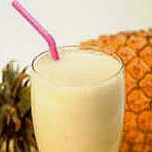 Creamy Pineapple Drink