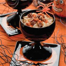 Creepy Crawly Rice Pudding.