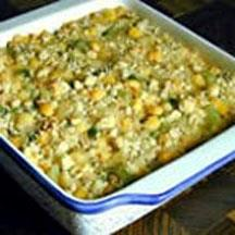 Delicious Hominy Casserole.