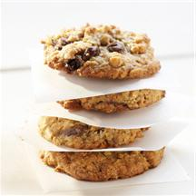 Deluxe Oatmeal Cookies with Raisinets.