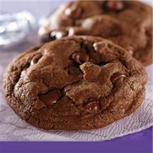 Double Chocolate Dream Cookies.