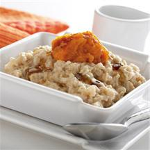Early Morning Pumpkin Maple Oatmeal.