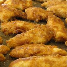 Easy Oven-Fried Chicken.