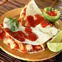 Easy Oven Soft Chicken Tacos.