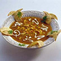 Easy Tortila Soup with Chicken.