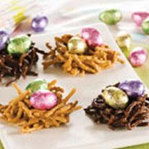 Egg-Ceptional Easter Nests.