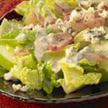 Endive Salad with Blue Cheese and Sweet-and-Sour Pickled Shallots.