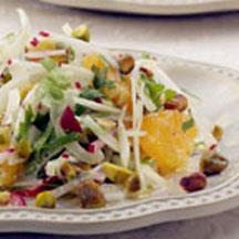 Fennel and Orange Salad with Toasted Pistachios.