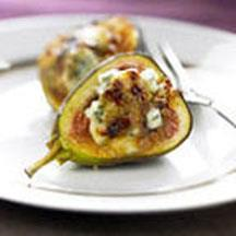 Fig Creme Brulee with Blue Cheese.