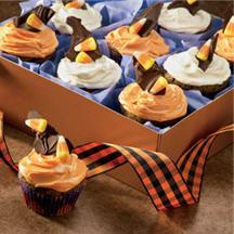 Frightfully Delicious Chocolate Cupcakes.