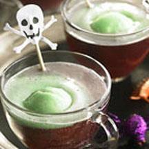 Ghoulish Grape Punch.