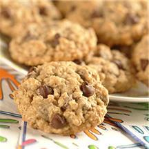 Good-For-You Choc-Oat-Chip Cookies.
