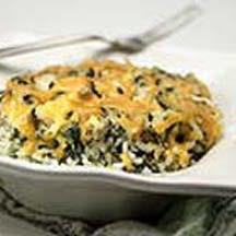 Green Chile Cheese-Rice Casserole.
