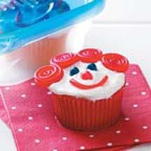 Happy Face Cupcakes.