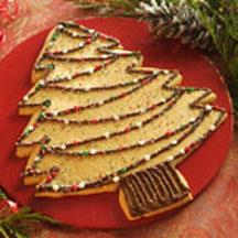 Holiday Tree Cookie.