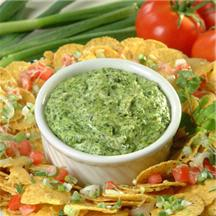 Hot Spinach Dip withCheesy Chips recipe