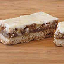 Iced Coconut Pecan Bars.