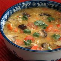 Invigorating Spicy Crab Soup.