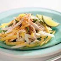 Jicama, Mango & Pineapple Salad