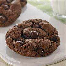 Jumbo Dark Chocolate Cookies.