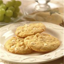 Lemon Nut White Chip Cookies.