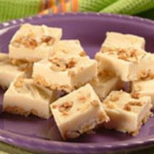 Maple Oat Fudge Squares.