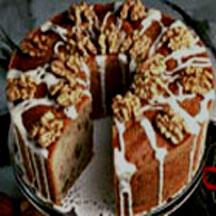 Maple Walnut Pound Cake.