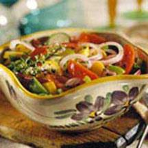 Marinated VegetableSalad recipe
